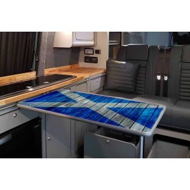 WOODEN SALTIRE TABLE