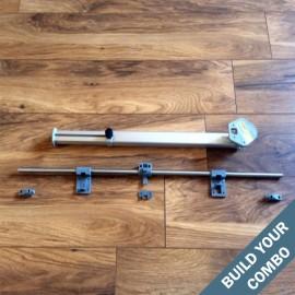 Reimo Sliding rail and adjustable leg combo