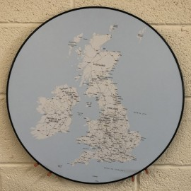 UK Map table