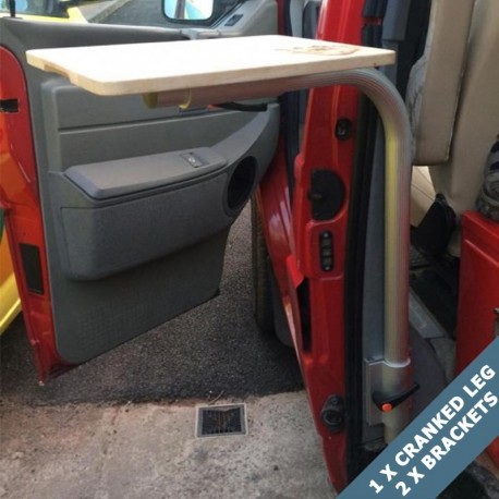 cranked campervan B Pillar table leg set