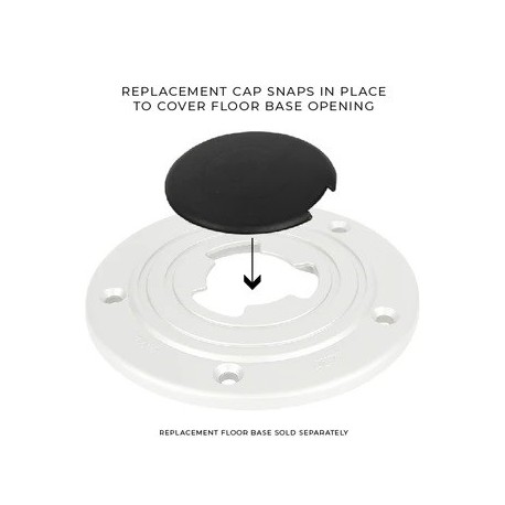 Sequoia floor base cap